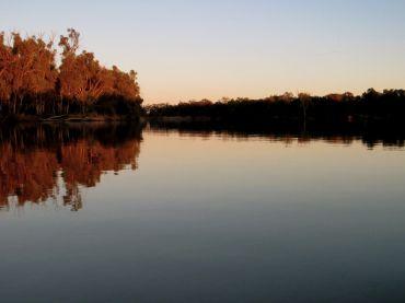 Sunrise on the confluence