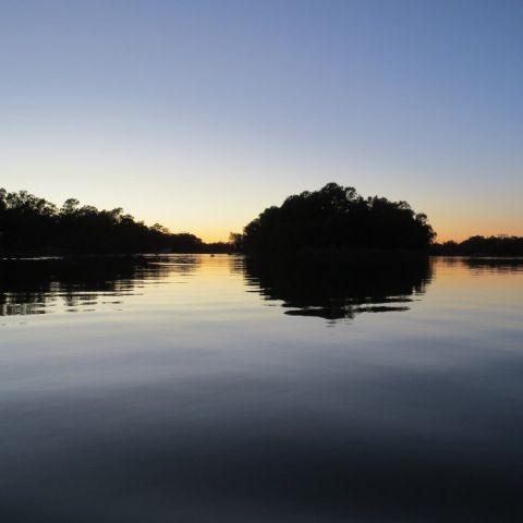 Murray/Darling island