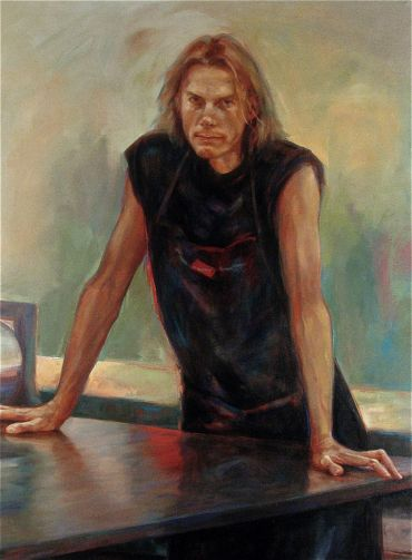 finalist Doug Moran portrait prize 2006